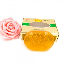 Luxusné Kórejské zlaté mydlo s 24 karátovým zlatom