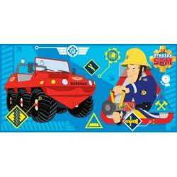Osuška - Požiarnik Sam, modrá