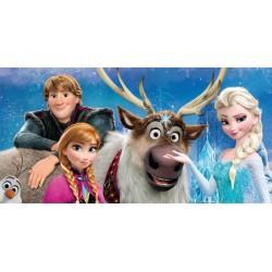 Osuška - Frozen Family, modrá