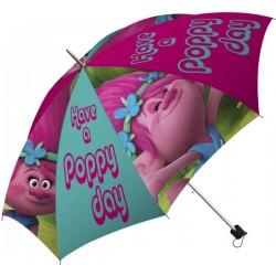Skladací dáždnik - Trollovia - Poppy - Polyester - Euroswan