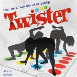 TWISTER - Zábavná spoločenská hra