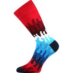 Unisex ponožky - Crazy vlny