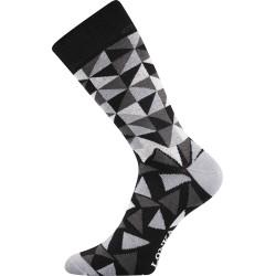 Unisex ponožky - Crazy trojuholníky - Lonka
