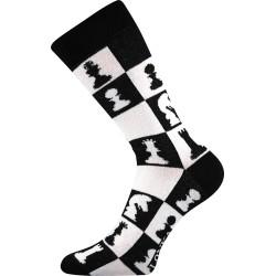 Unisex ponožky - Crazy šach