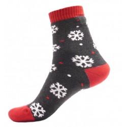 Unisex termo ponožky - Vločky