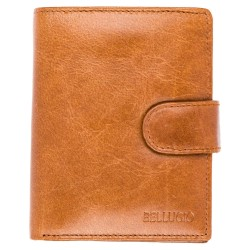 Pánska peňaženka Bellugio - svetlohnedá