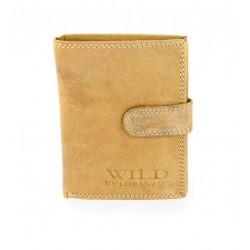 Pánska peňaženka Wild by Loranzo - pieskovec
