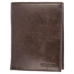 Pánska peňaženka Bellugio - čokoládovohnedá