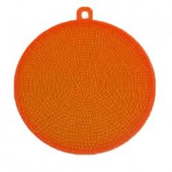 Silikónová hubka na riad - oranžová