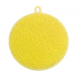 Silikónová hubka na riad - žltá