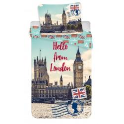 Bavlené obliečky - London, Hello