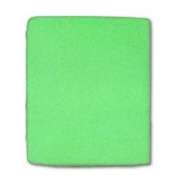 Froté prestieradlo do postieľky - zelené - 60 x 120 cm - New Baby