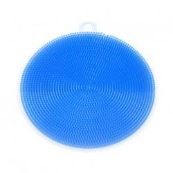 Silikónová hubka na riad - modrá