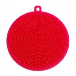 Silikónová hubka na riad - červená
