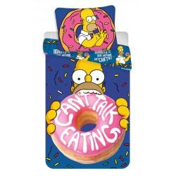 Bavlnené obliečky na jednolôžko - Homer Simpson Donuts