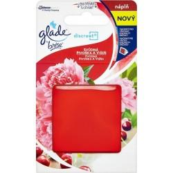 Glade Discreet - Náhradná náplň - Zvodná pivonka a višňa 8 g
