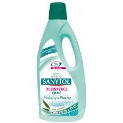 Dezinfekčný univerzálny čistič na podlahy a plochy s vôňou eukalyptu - 1000 ml - Sanytol