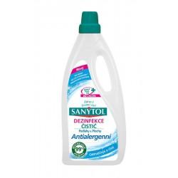 SANYTOL - dezinfekčný antialergenný čistič na podlahy a ostatné plochy, 1000 ml