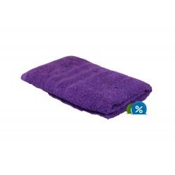 Froté uterák - 100 x 50 cm - fialový
