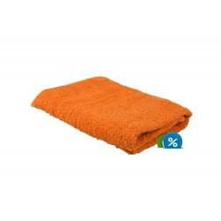 Froté ručník 50x100 cm - oranžový