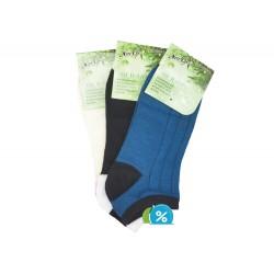 Dámske členkové bambusové ponožky NaiGe NW10104 - 3 páry