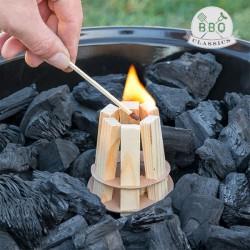Drevený podpaľovač na gril BBQ classics