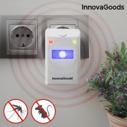 Odpudzovač hmyzu a hlodavcov s LED InnovaGoods