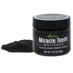 Miracle Teeth - uhlie pre bielenie zubov, 20g