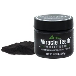 Prírodný prostriedok na bielenie zubov Miracle Teeth - 20 g