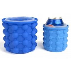 Silikónový výrobník kociek ľadu a chladič nápojov - 10x10 cm
