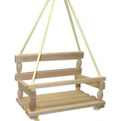 Veľká drevená hojdačka UNI - Rappa