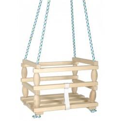 Malá drevená hojdačka Baby - Rappa