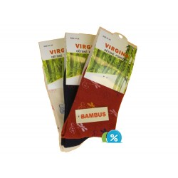 Detské klasické bambusové ponožky HN-1012 - 4 páry - Virgina