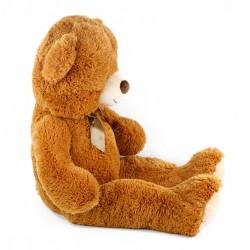 Veľký plyšový medveď Oskar - 90 cm - hnedý