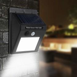 Solárne LED senzorové svetlo  - 48 LED