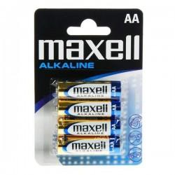 Alkalické batérie PK4 - 4x AA - 1.5V - Maxell