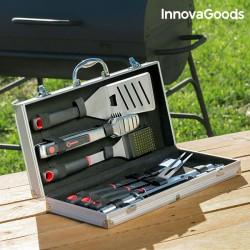 Kufrík s profesionálnym grilovacím náčiním - 11 častí - InnovaGoods