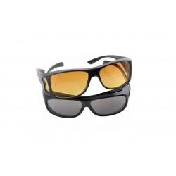 Okuliare pre vodičov deň/noc - HD Vision - 2 ks v balení