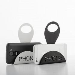 Nabíjací stojan pre smartphone - biely
