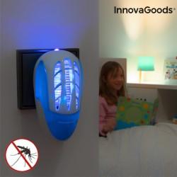 Odpudzovač komárov do zásuvky s LED ultrafialovým svetlom InnovaGoods