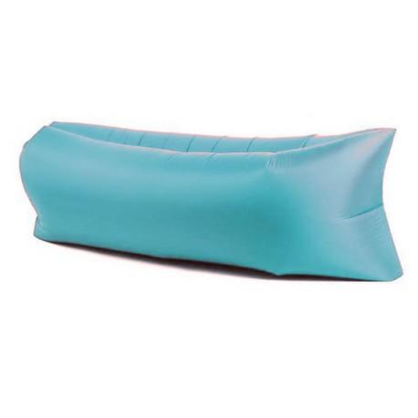 Nafukovací Lazy Bag - modrá