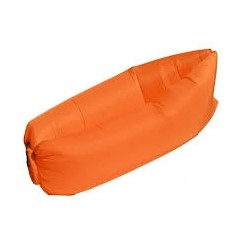 Nafukovací Lazy Bag - oranžová