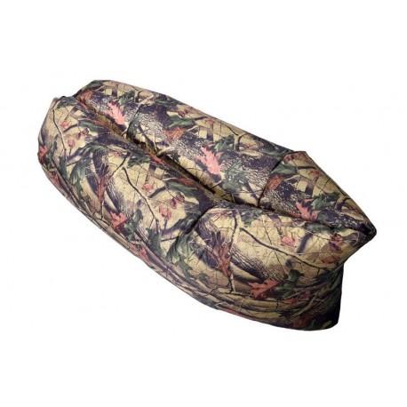 Nafukovací Lazy Bag - motív listy