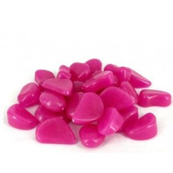 Ozdobné svietiace kamene - fialové