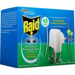 Elektrický odparovač s eukalyptovým olejom RAID - 27 ml