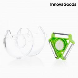 Rotačná škrabka a krájač 4 v 1 - InnovaGoods