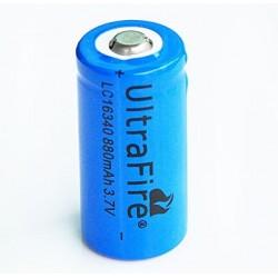 Batérie W 16340 (1200mAh, 3,7V, Li-ion) - 1 kus
