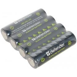 Alkalické batérie Defender LR6-4F - 4x AA