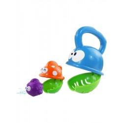 Detská hračka do kúpeľa, papajúca rybka - Baby Mix