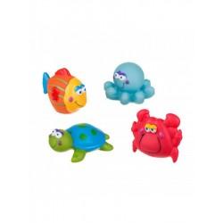 Hračky do kúpeľa, morský svet - Akuku